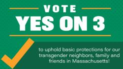 #Yeson3 Freedom for All Massachusetts