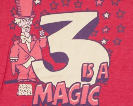 Three is A Magic Number