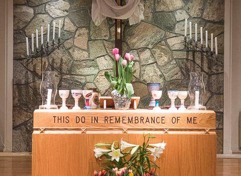 April 4 – Easter worship service